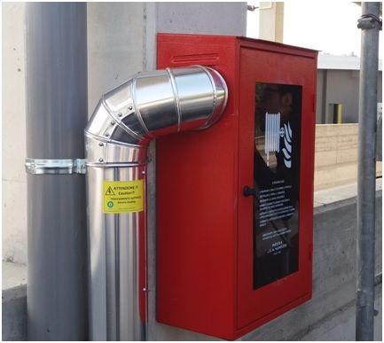 Tracciamento tubazioni antincendio