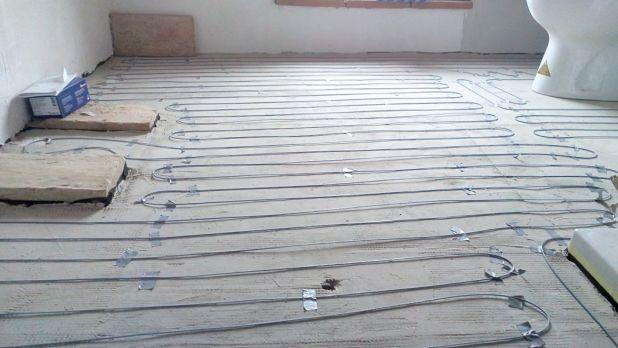 Riscaldamento elettrico a pavimento
