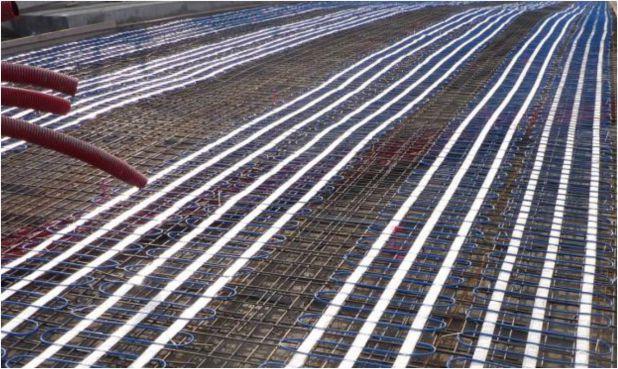 Tracciamento rampa industriale