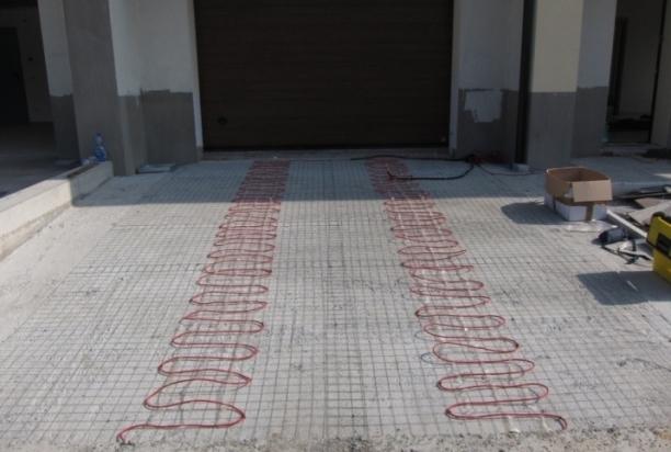 Tracciamento rampa residenziale
