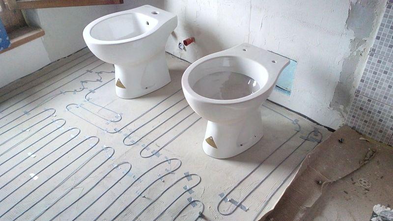 Esempi di installazione cavi scaldanti autoregolanti ed for Riscaldamento elettrico